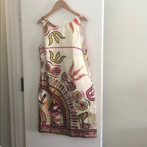 Alice & Tricia silk scoop back dress